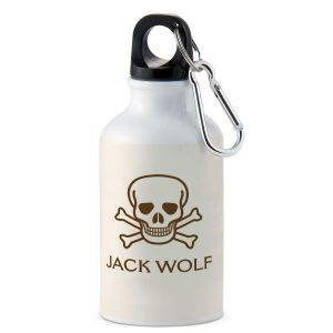 Skull & Crossbones Personalized Water Bottle