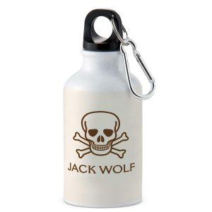Skull & Crossbones Personalized Water Bottle