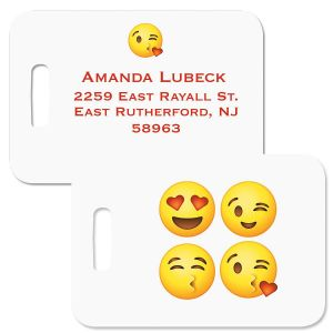 Emoji Personalized Luggage Tag