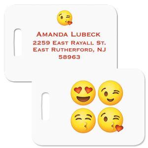 Emoji Personalized Luggage Tag