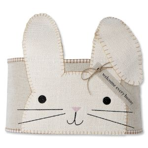 Easter Bunny Pillow Wrap by Mud Pie