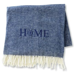 Home Nautical Blanket