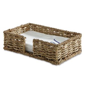 Sea Grass Guest Towel Napkin Holder
