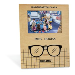 Teacher with Glasses Frame