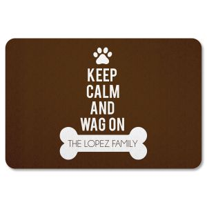 Customized Wag On Doormat