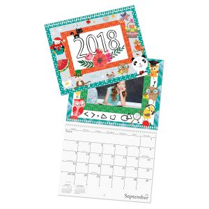 2018 Graphic Photo Calendar