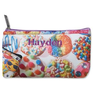 Assorted Donuts Neoprene Pencil Case from iscream®