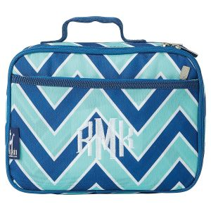 Chevron Seabreeze Lunch Bag