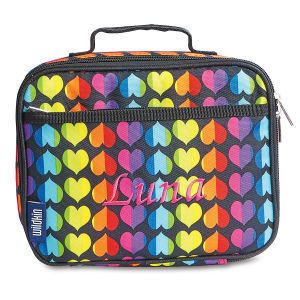Rainbow Heart Lunch Bag