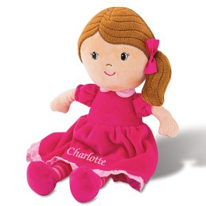 Brunette Personalized Doll by Stephen Joseph®