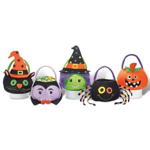 Characters Personalized Halloween Treat Bags