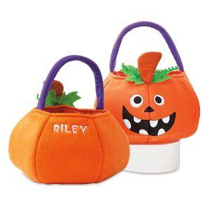 Pumpkin Personalized Treat Bag