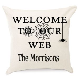Welcome to Our Web Personalized Pillow