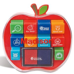 Personalized Pretend & Play® School Stamps