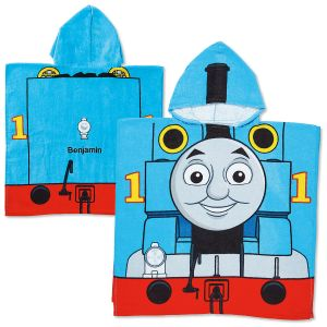 Personalized Thomas Poncho Towel