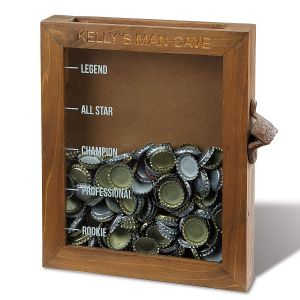 Personalized Bottle Cap Keeper