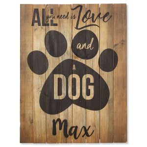 Personalized Dog Plaque