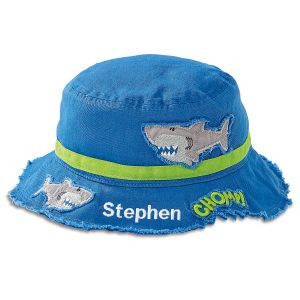 Personalized Shark Bucket Hat by Stephen Joseph®