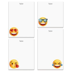 Personalized Emoji Note Pads