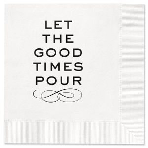 Good Times Cocktail Napkins