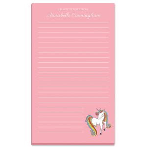Fantasy Unicorn Note Pad