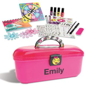 Personalized Nail Art Caddy