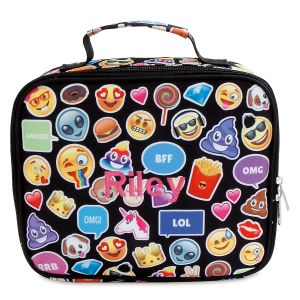 Personalized Emoji Funk Lunch Bag