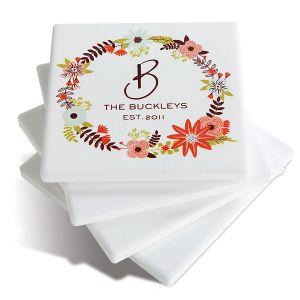 Personalized Ceramic Coasters