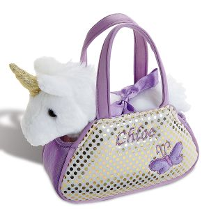 Personalized Unicorn Pet Carrier