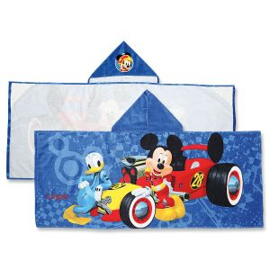 Personalized Mickey Hooded Towel