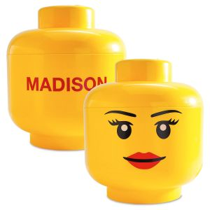 Girl Lego® Storage Head