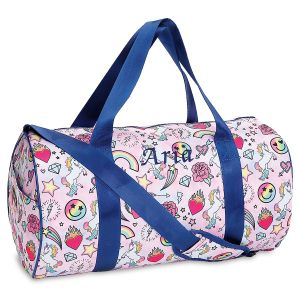 Personalized Unicorn Couture Duffel Bag
