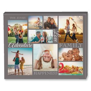 Adventure Collage Photo Canvas