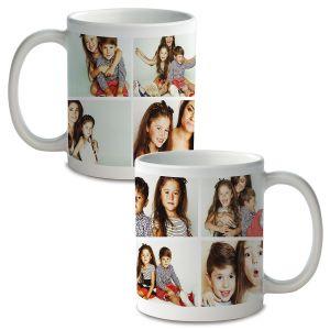 Collage 8 Ceramic Photo Mug