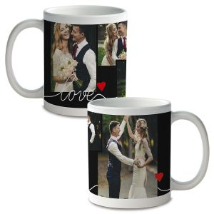 Love Ceramic Photo Mug