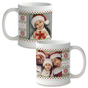 Sweater Ceramic Photo Mug