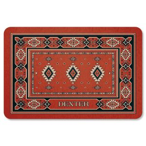 Personalized Kilim Pet Mat