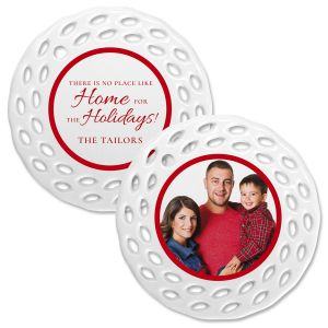 Home Photo Ornament - Doily