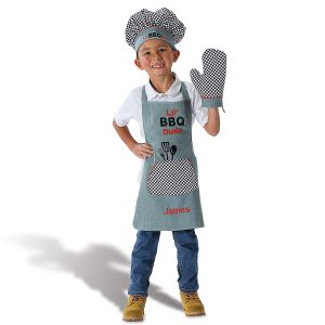 Li'l Dude Personalized Apron Set