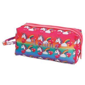 Personalized Unicorn Toiletry Bag