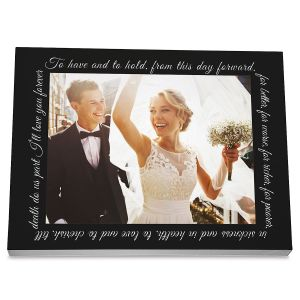 Wedding Photo Plaque