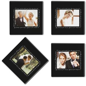 To Have and to Hold Photo Coasters