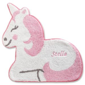 Personalized Unicorn Rug