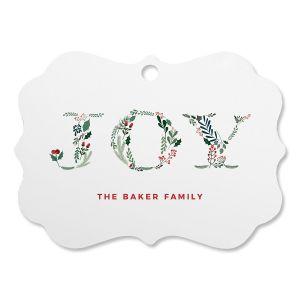 Botanical Joy Personalized Ornament Bracket
