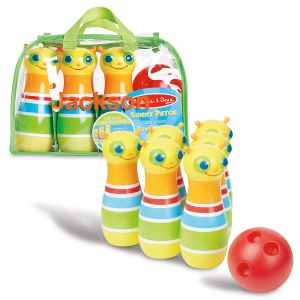 Personalized Giddy Buggy Bowling Set by Melissa & Doug®