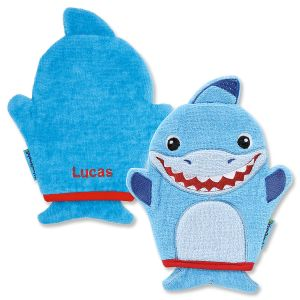 Personalized Shark Bath Mitt by Stephen Joseph®