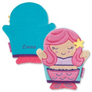 Personalized Mermaid Bath Mitt by Stephen Joseph®