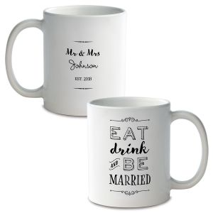 Be Married Personalized Ceramic Mug Color Changing