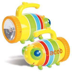 Personalized Giddy Buggy Kids' Flashlight by Melissa & Doug®
