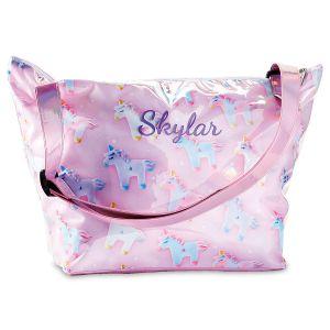 Personalized Unicorn & Stars Overnight Bag by iScream®